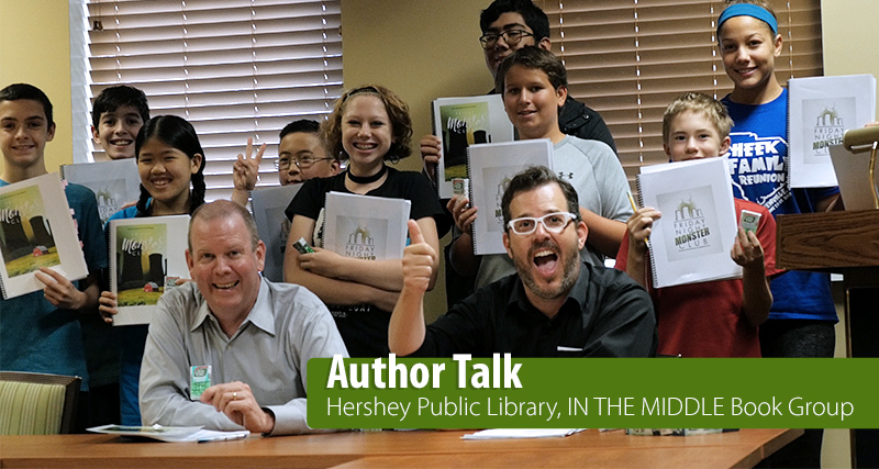 Hershey Public Library, Author Talk
