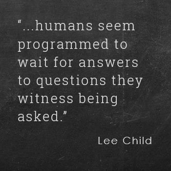 Lee Child quote