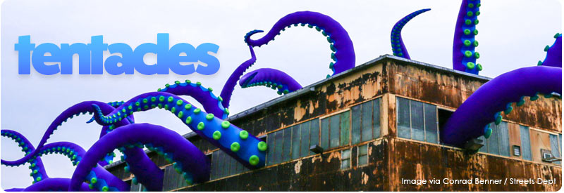 Twenty Inflatable Tenacles