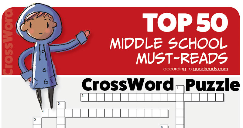 Top 50 Middle-Grade Must-Reads, Crossword